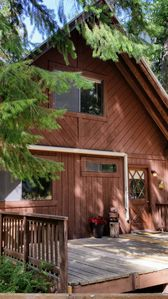 Photo for Wooded 3 Bedroom Cabin on Private 5 Acres. Sleeps 8,  Dogs Welcome!