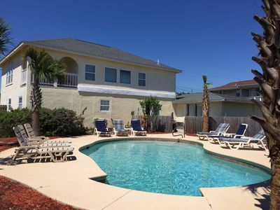 Photo for 6 Bedrooms / 4 Baths Private Pool / Wi-Fi /  Billiards/Pool Table