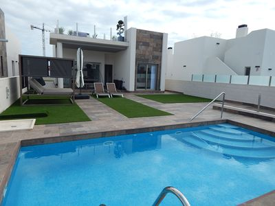 Photo for Superb Modern Villa with Private Pool