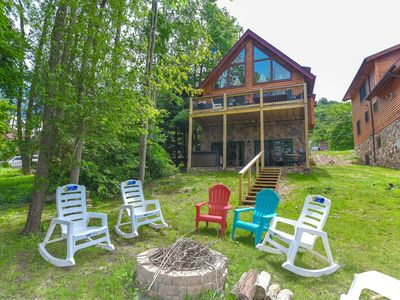 Photo for Water front home with private dock, hot tub, and free WIFI!