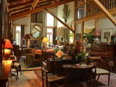 Photo for Lovingly restored barn, sumptuously furnished