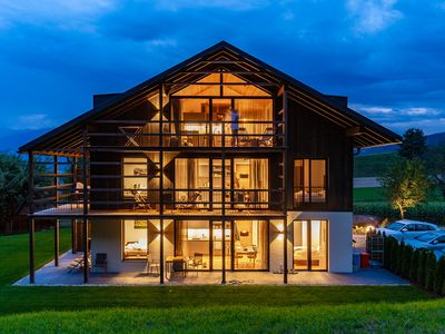 Photo for Exclusive CHALET apartment on the Plan de Corones in the Puster Valley / Dolomites - South Tyrol