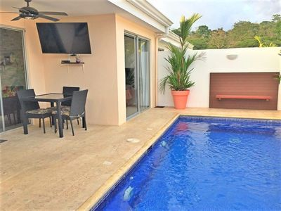 Photo for Modern 2 bdr 2 ba townhouse, private pool, gated community near Los Suenos