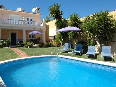 Photo for Villa with heated pool in Nerja
