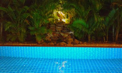 Photo for Villa with private pool, large terrace, near naiharn beach and shops