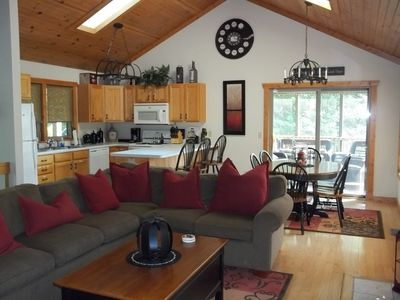 Photo for Exceptional 3BR/3BA, w/Screen Porch, large deck, wifi. Free 3rd night to 4/30/19