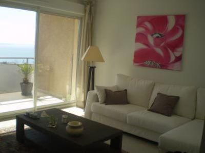 Photo for Apartment with breathtaking views of the gulf and the city of Ajaccio, charming, new, spacious, sunny in quiet residence near the beaches and the city.