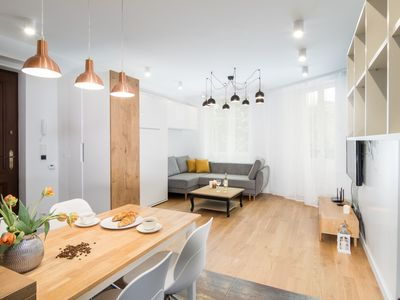 Photo for Cosy and modern apartment - Plac Na Groblach 19
