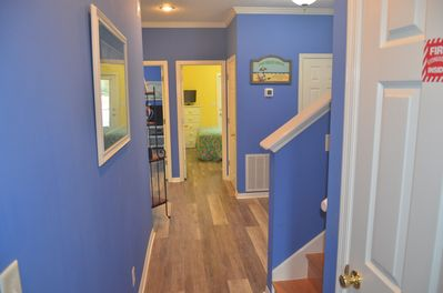 First floor entry to bedrooms