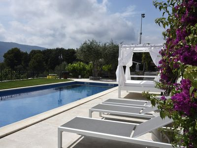 Photo for Portion of villa with 360 degree sea view on the gulfs of Alassio and Andora