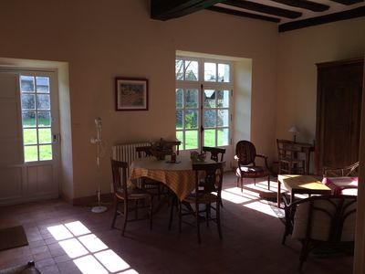 Photo for Le Verger du Château La Moglais: Character cottage in a beautiful location