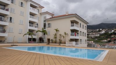 Photo for Contemporary apartment, pool, lifts, view - perfect for couples!