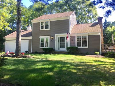 Photo for Beautiful home in quaint Osterville. 3br/2ba, clean, private and spacious!