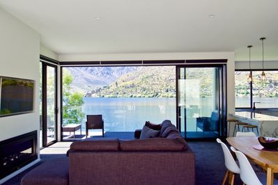 Spacious living with a stunning view