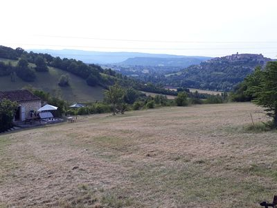 Photo for Relax in Cordes-sur-Ciel magnificent view and SPA