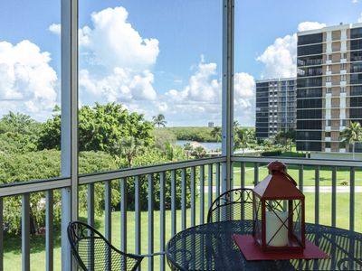 Photo for Upscale Vanderbilt Towers III, 4th floor condo with incredible views & steps to the beach!