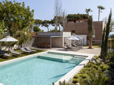 Photo for La Roca - Modern villa with private pool in front of the sea (ETV/6416)