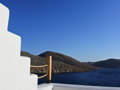 Photo for 3BR Villa Vacation Rental in Panormos, Egeo