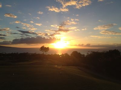 Photo for Wailea Golf Course Condo!  Partial Ocean Views!!!