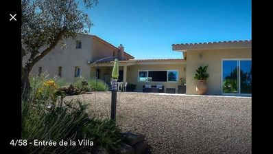 Photo for Villa 2piscines ext and int heated 28 ° c to 5 minutes from the beaches