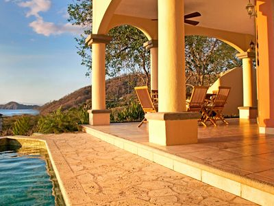 Photo for Beautiful Villa w/Ocean View from Every Room; Walk to the Beach-