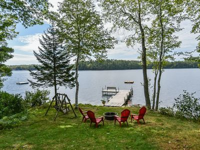 Photo for Beautiful Lakefront Escape - Work-from-Home - Social Distancing is Easy Here!
