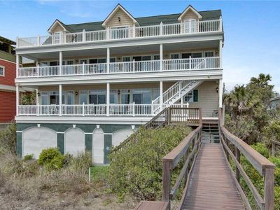 Photo for Spacious Oceanfront Home- Perfect for the Family with Spectacular Ocean and Pier Views!