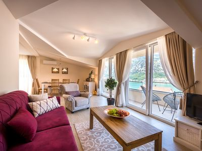 Photo for Stylish 2BD PENTHOUSE close to Kotor Old Town and Beach