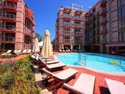 Photo for Tarsis Club - Deluxe apartment with pool view