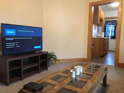 """Living Room with 50"""" TV"""
