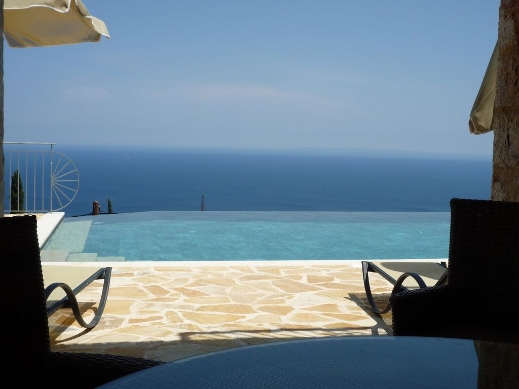 gr1102: villa antonio - breathtaking sea views and infinity