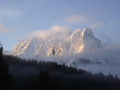 Mt. Index From The Front Yard