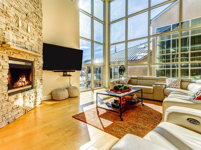 Photo for Upscale, modern, and bright condo across the street from the slopes!