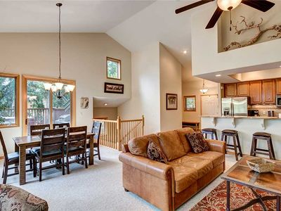 Photo for Townhome near the mountain in Breckenridge - stunning views, private hott ub.