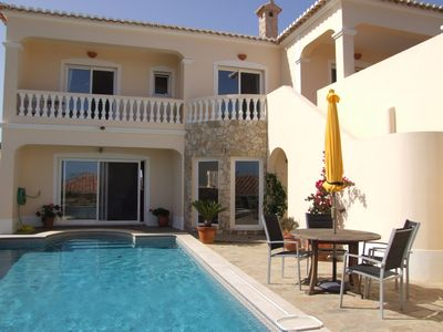 The annexe and private pool