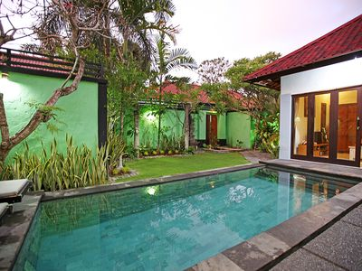 Photo for 2 BR, Central Seminyak, Pool, Staff