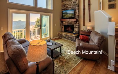 Photo for NEW! Beech Mtn... LUXURY at the Top!!..Walk to Fred's