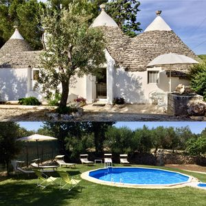 Photo for Original Trulli, With private Pool, Air cond. Wi-Fi..To Alberobello, Puglia.
