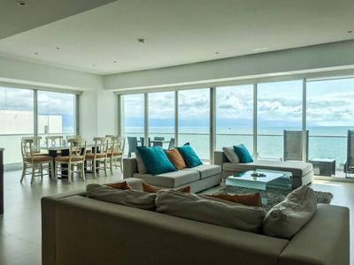 Photo for Icon Beachfront Unit at Marina-hotel zone. Condo up to 12 people