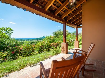The view from Villa 18 is not to be missed!