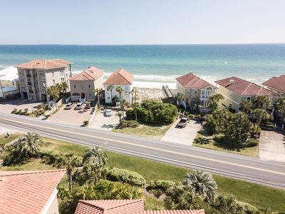 Photo for LUV PCB  3 Bedroom, 3 Bathroom town home, sleeps 11, community pool and great gulf views!