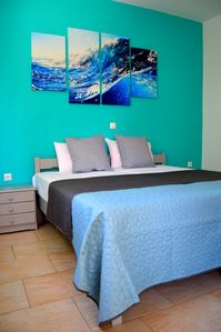 Photo for Eva Apartments with two separate bedrooms, just 50 meters from the sea
