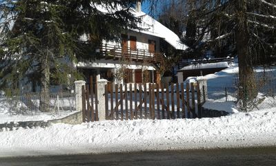 Photo for Ground floor house Aux Orres 77m² 10 pers 200m from the slopes