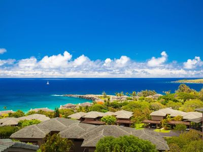 Photo for Enjoy stunning ocean and island vistas, even from the comfort of your own bed!