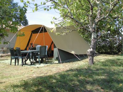 Photo for For rent: De Waard tent with luxury equipment for 4 people.