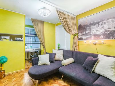 Photo for COMFORTABLE ART APARTMENT IN THE STREET