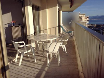 Photo for 2 P Panoramic view of Port Vauban ... Negotiable Prices-Long Stay Reduction
