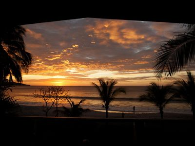 Photo for Front Row Center!!! ON Flamingo Beach: 5BR, Private Pool & Tiki Bar