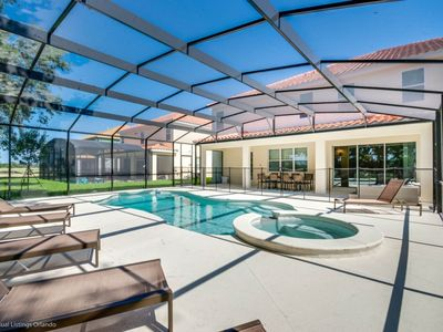 Photo for Sun Drenched Luxury 14  Bedroom Villa in Solterra