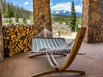 Photo for Grand Lake Log Home Surrounded by Fall Colors of Rocky Mountain National Park